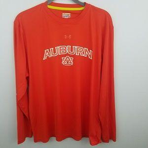 Under Armour Loose Fit Auburn University LS Tshirt